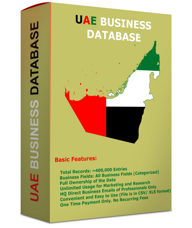 UAE & DUBAI BUSINESS DATABASE 2020