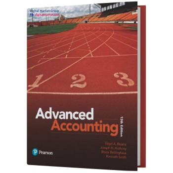 Test Bank and Instructor Resources for Advanced Accounting, 13th Edition by Joseph H. Anthony