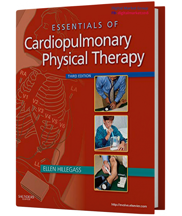 Test Bank for Essentials of Cardiopulmonary Physical Therapy, 3rd Edition by Hillegass