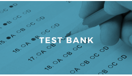 Unclassified List of Test Banks