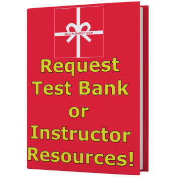 Request Uncategorized Test Bank or Instructor Resources