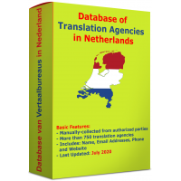 Database of Translation Agencies in Netherlands